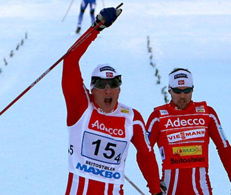 f30d4fec2d1 Котрер спечели преследването за Световната купа по ски-бягане ...