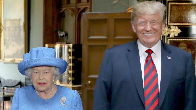 Снимка: Тръмп се готви за държавно посещение в Англия през юни