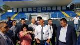 Министър Кралев в Кърджали: Държавата от години помага на всички отбори, влезли във висшия ешелон на българския футбол