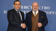 Министър Кралев се срещна с президента на AIBA Умар Кремльов