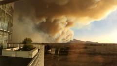 Извънредно положение в Тоскана заради горския пожар край Пиза