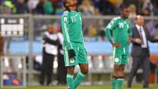 Президентът на Нигерия бесен-вади отбора от футбола за 2 г.