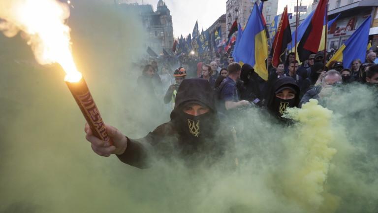 Двама активисти бяха атакувани с лютив спрей в украинската столица