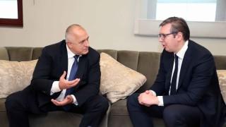 """И сърбите ще си имат """"Балкански поток"""", уверен Борисов"""