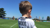 Синчето на Кроос гледа тренировката на Бундестима (СНИМКА)