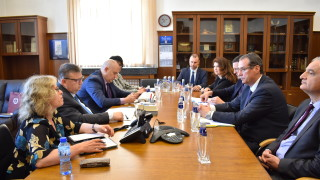 Цацаров и шефът на ОЛАФ борят измамите с контактна група