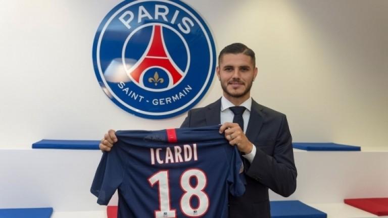 Икарди: ПСЖ е най-добрият отбор, в който съм играл