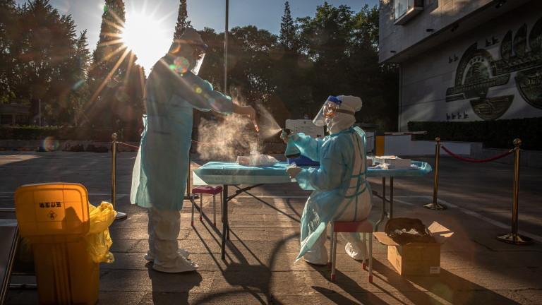 Китай регистрира само 2 нови случая на COVID-19
