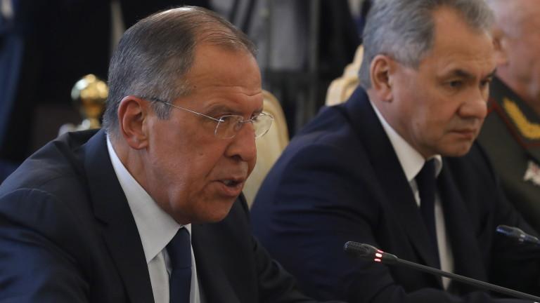 Русия предупреди многозначително: Който не слуша Лавров, ще слуша Шойгу