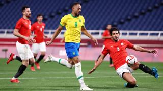 Бразилия пречупи Египет на Олимпиадата