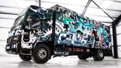 Камион с графити на Banksy от 1999 г. на търг за близо 2 милиона долара