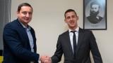 Александър Тонев подписа нов договор с Ботев (Пловдив)