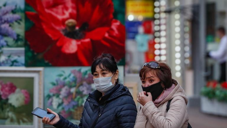 Рекордни над 300 починали за 24 часа от началото на COVID-19 пандемията в Русия