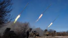 """Киев обвини сепаратистите, че обстрелват позициите им с """"Град"""""""