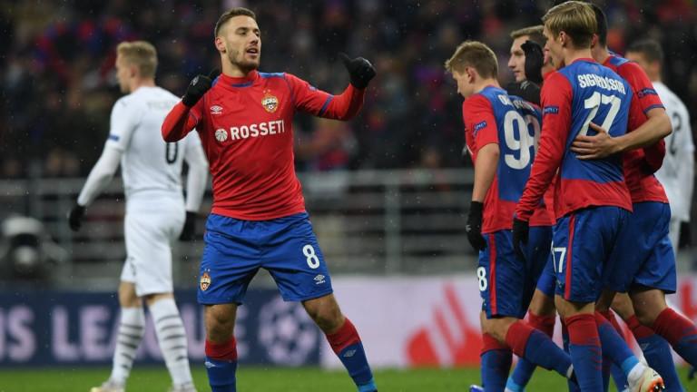 Медиите в Русия: ЦСКА (Москва) с големи шансове да продължи напред в Лига Европа