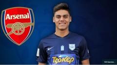 Арсенал изпреварва конкуренцията за млад гръцки талант