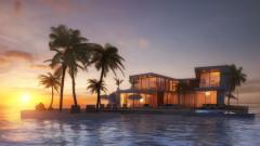 Дубай прави квартал от плаващи къщи за по $23 милиона едната (СНИМКИ)