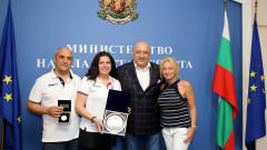 Министър Кралев награди спортистите ни за успехите им на Европейските игри в Минск