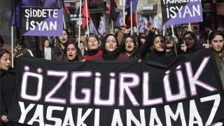 Сблъсъци на протест за Деня на жената в Турция