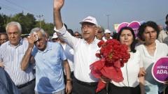 Турската опозиция се жали пред евросъд заради референдума, докато води 425-километров протестен марш