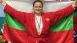Мария Оряшкова за 8-ми път на европейския връх!