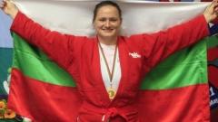 Самбистката Мария Оряшкова е №1 в категория до 80 килограма