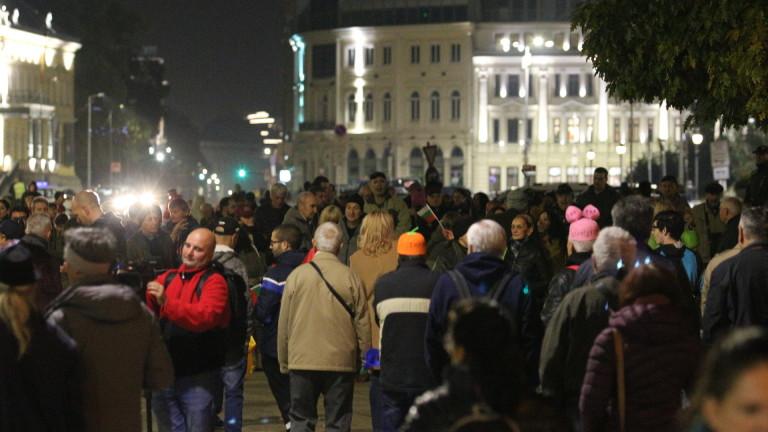 Антиправителственият протест поиска и оставката на Рашидов
