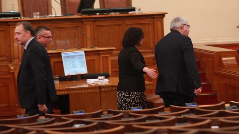 В четвъртък късно вечерта парламентът одобри на второ четене държавния