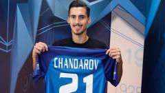 Асен Чандъров е горд от дебюта си за Левски