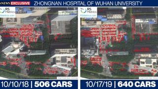Сателитни снимки показват, че коронавирусът връхлетял Китай по-рано