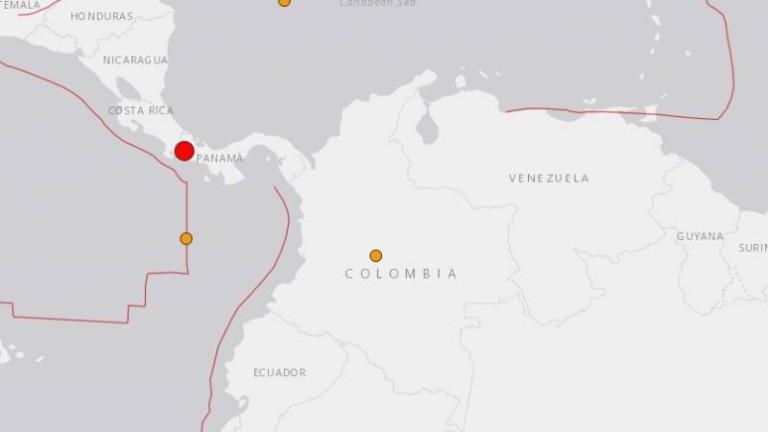 Земетресение от 6,1 по Рихтер люля Панама