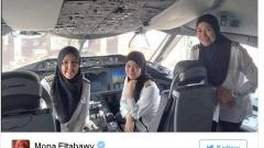 В Саудитска Арабия жените пилотират самолети, но не им е позволено да шофират