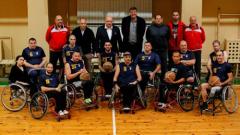 Министър Кралев: Ще закупим спортни колички на баскетболистите с увреждания