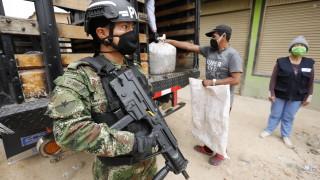 Бунтовниците в Колумбия с едномесечно примирие заради пандемията