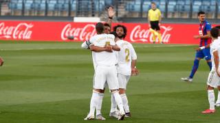 Реал (Мадрид) отнесе Ейбар за едно полувреме