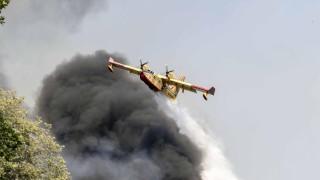 Франция помага на Италия за погасяването на горските пожари