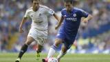 Юнайтед спасява Челси от сърдиткото Азар