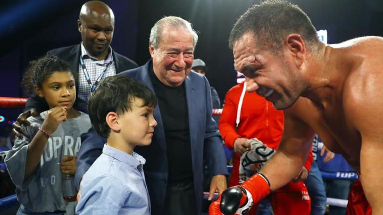 Кубрат Пулев получи поздрави за победата си срещу Богдан Дину