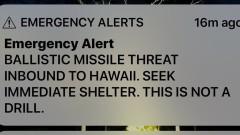 """Фалшивата тревога на Хавайските острови е заради """"ужасно проектиран"""" потребителски интерфейс"""