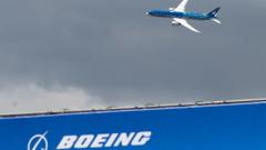 """Боинг"" временно приземи самолети от модела 777"