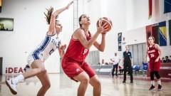 Баскетболистките до 16 години загубиха от Естония на Европейското в Подгорица