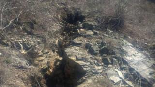 Разширява се свлачището на пътя Смолян-Мадан