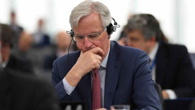 Барние потвърдил Брекзит без сделка, ако Мей се провали