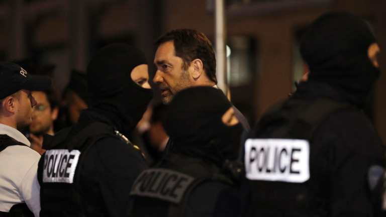 Френският вътрешен министър Кристоф Кастанер посети Лион. Градът стана обект
