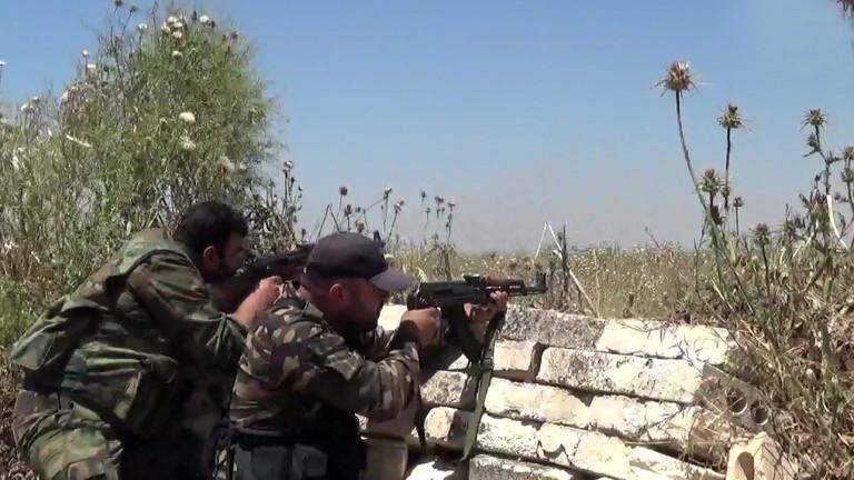 Турция е въоръжила редица подкрепяни от нея сирийски бунтовници. Целта