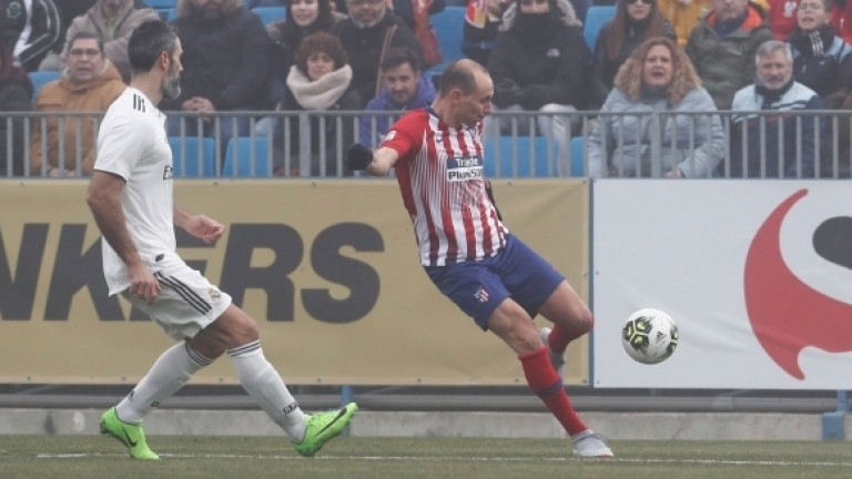"""Марто Петров скъса мрежата на Реал (Мадрид) на стадион """"Фернандо Торес"""""""