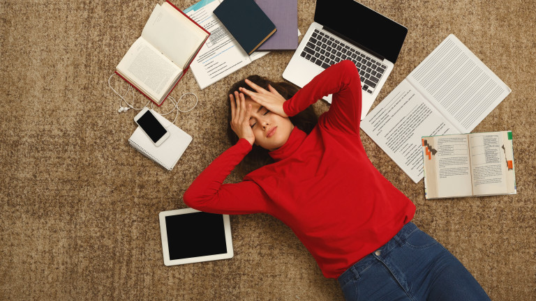 Признаците, че сме под сериозен стрес