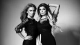 Фолк певиците Вероника и Магда станаха модели (СНИМКИ)