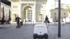 Първият робот пощальон започва работа на 4 декември