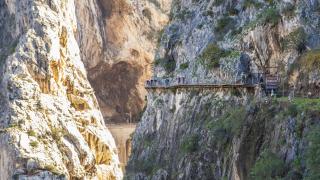 Най-опасната пътека в света e отворена (СНИМКИ)
